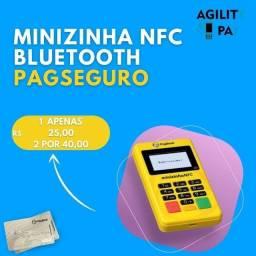 Minizinha NFC Bluetooth PagSeguro, 1 R$25,00 E 2 Por R$40,00
