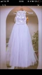 Vestido de noiva, troco por iPhone a depender