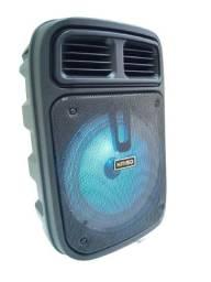 Caixa Bluetooth Rádio com Microfone