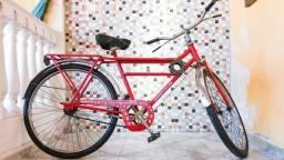 Bicicleta Caloi Barraforte Raridade Toda Original de Fábrica - Colecionador