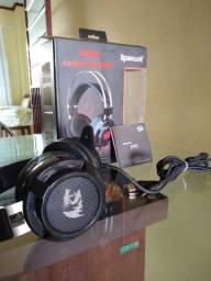 Headset Gamer Redragon Siren USB Preto