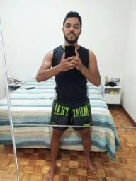 Vendo Shorts de Muay Thai - Novos