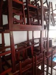 Mesas de maderia