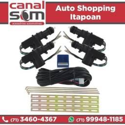 Kit Trava Elétrica Universal 4 Portas na Canal Som