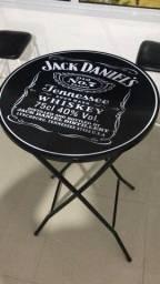 Mesa Bistrô Jack Daniels