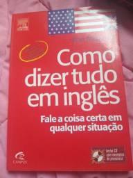Livro Como dizer tudo em inglês
