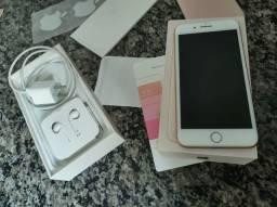 iPhone 8 plus 256 GB com caixa e nota