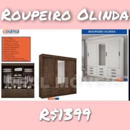 Guarda roupa Olinda guarda roupa Olinda - Real Móveis *
