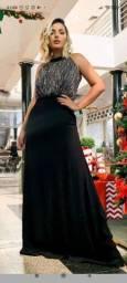 Vestido Maria Arruda usado uma vez Tam GG