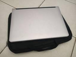 Notebook Positivo + Carregador + Bolsa + Óculos 3D