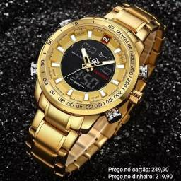 Relógio Masculino Original Naviforce 100% Funcional