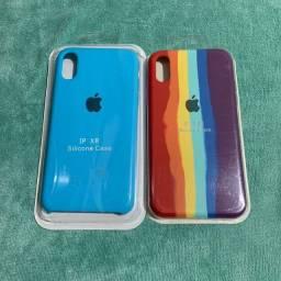 Case iPhone XR Azul e colorida
