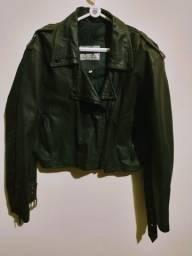 Jaqueta feminino couro legítimo