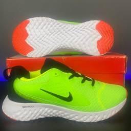 Tênis Nike React Verde Ultima Unidade Queima de Estoque