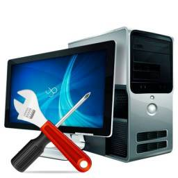Manutenção, limpeza e assessoria para computadores e notebooks