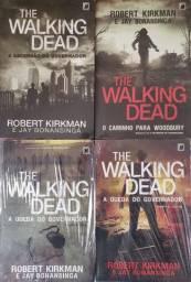 (Lacrados) Livros The Walking Dead Volume 1 a 4 - Robert Kirkman