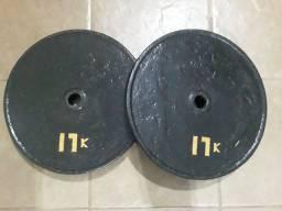 Anilhas de Ferro para Musculação