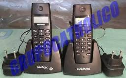 (entrega*) Kit 2 Telefones Sem Fio Intelbras