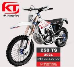 MXF 250 TS moto trilha, modelo 2021 à pronta entrega