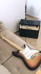 Amplificador bugera V22 + transformador + footswitch
