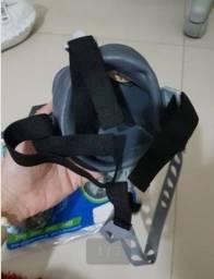 Máscara Nova com filtro na embalagem