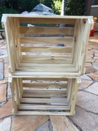 Nichos de madeira