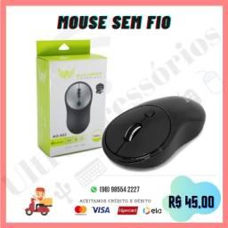 Mouse Óptico Sem Fio