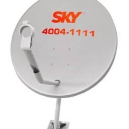 Antenista Sky oi vivo e claro