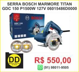 Serra Mármore a seco Bosch GDC 150 Titan 1500W 127V