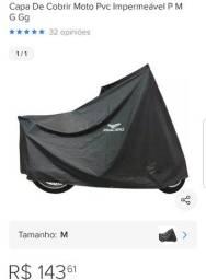 Capa alba moto