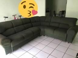 Sofá de canto conservado