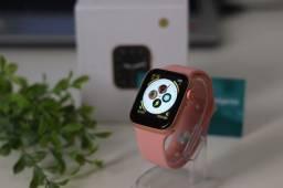 Smartwatch New Iwo W26 Original Atende Ligações Bluetooth Rosê