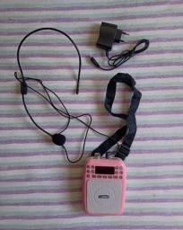 Rádio Amplificador Digital Com Microfone X Zhang Xz-812