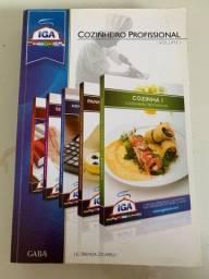 Livro Cozinheiro Profissional - IGA - Volume 1