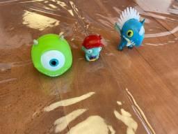 Brinquedo Mini Monstrinhos Personagens - Tudo Junto - Ótimo Estado