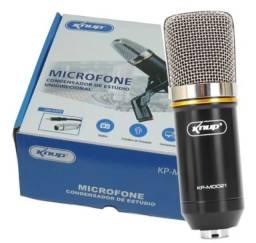 Microfone Condensador para gravação