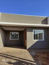 Casa para Venda em Ponta Grossa, Nova Ponta Grossa, 2 dormitórios, 1 banheiro, 2 vagas