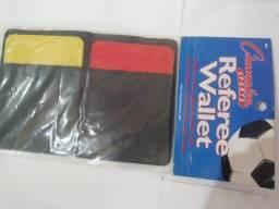 Cartao Amarelo e Vermelho com Cordão Futsal Volei Futebol  Juiz Arbitro Referee