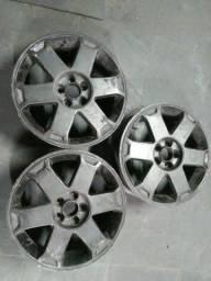 Rodas do golf aro 17 são so 3 rodas