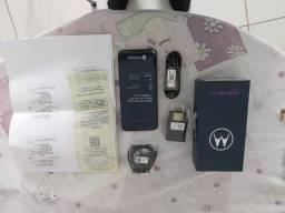 Celular Motorola one fusion novo  128 gigas