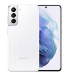 Vendo Smartphone Samsung S21 LACRADO Cor Branca