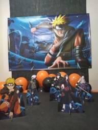 Decoraçãodr festa  Naruto infantil