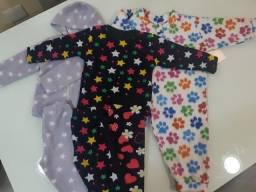 Pijamas menina 2 a 3 anos
