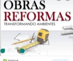 OBRAS & REFORMAS EM GERAL.
