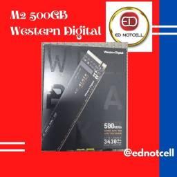 SSD WD Black SN750, 500GB, M.2, NVMe,