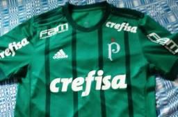 Camisa Do Palmeiras de Jogo Unissex G