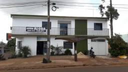 Apartamento com 2 dormitórios para alugar, 62 m² por r$ 700,00/mês - cascavel velho - casc