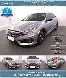 Honda Civic 2.0 16v flexone ex 4p cvt 2017 R$ 65.429 43000km - 2017