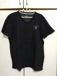 Camisa preta Colcci tamanho M (pouco usada)