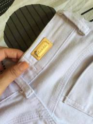 Calça jeans branca por R$ 20,00